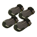 shop CLEARANCE -- Gray Grip Trex Dog Boots by Ruff Wear -- Set of 4