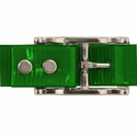 buy discount  GREEN 1 in. Day Glow Center Ring Collar Buckle Back