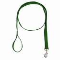 buy discount  Green 1 in. x 6 ft 1-Ply Nylon Leash
