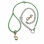 shop Green 5 ft. Cable Tree Lead with Chain