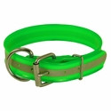 buy discount  Green Beaded Reflective 1 1/2 in. Dee-End Collar