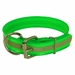 Green Beaded Reflective 1 1/2 in. Dee-End Collar