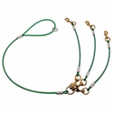 buy discount  GREEN K-9 Komfort Dog Walker's Cable Lead 3-Dog