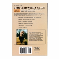 buy  Grouse Hunter's Guide back cover