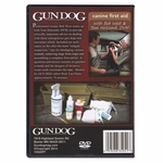 shop Gun Dog Canine First Aid DVD back