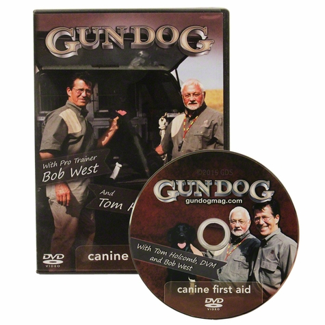 Gun Dog: Canine First Aid with Bob West and Tom Holcomb DVD