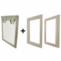 Gun Dog House Doors Big Dog Door w/ PVC Door Trim Kit