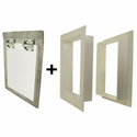 buy discount  Gun Dog House Doors Big Dog Door w/ PVC Wall Trim Kit