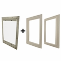 Gun Dog House Doors Easy Big Dog Door w/ PVC Door Trim Kit
