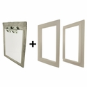 Gun Dog House Doors Heavy Duty Dog Door w/ PVC Door Trim Kit
