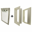 buy discount  Gun Dog House Doors Heavy Duty Dog Door w/ PVC Wall Trim Kit