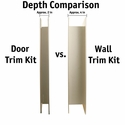 buy discount  PVC Door Trim Kit Thickness Comparison