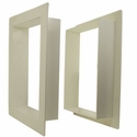 buy discount  Gun Dog House Door PVC Wall Trim Kit for Big Dog Door / Easy Big Dog Door