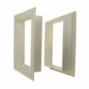 buy discount  Gun Dog House Doors PVC Wall Trim Kit for Heavy Duty Dog Door / Easy Pet Door