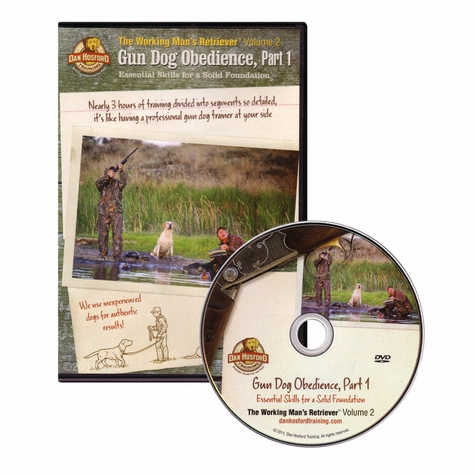 Gun Dog Obedience Part 1 with Dan Hosford DVD