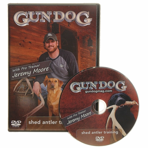 Gun Dog Shed Antler Training with Jeremy Moore DVD