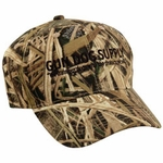 shop Gun Dog Supply Logo Hat -- Mossy Oak Shadowgrass Blade Camo
