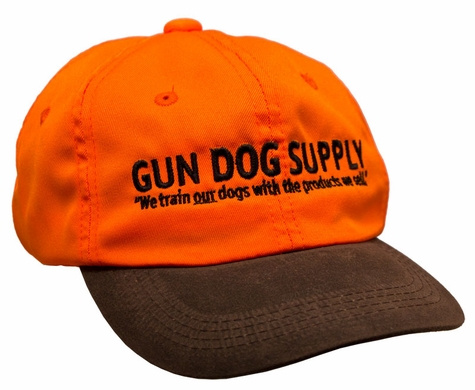 Gun Dog Supply Logo Cap -- Blaze Orange And Brown