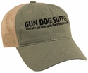 Gun Dog Supply Logo Hat -- Olive/Tan with Mesh