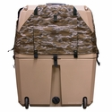 buy discount  Gunner Kennels Camo Cold Weather Kit Back Flaps Down