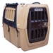 Gunner Kennels Black Cold Weather Kit Front Flaps Open