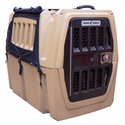 buy discount  Gunner Kennels Black Cold Weather Kit Front Flaps Open