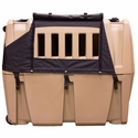 buy discount  Gunner Kennels Black Cold Weather Kit Left Side Flaps Open