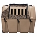 Gunner Kennels Camo Cold Weather Kit Left Side Flaps Open