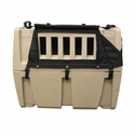 buy discount  Gunner Kennels Black Cold Weather Kit Right Side Flaps Open