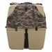 Gunner Kennels Camo Cold Weather Kit Back Flaps Down