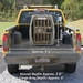 Gunner Kennels Dog Crate in Small Truck
