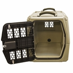 shop Gunner Kennels G1 Small Dog Crate Open