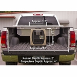 shop Gunner Kennels Small Dog Crate in Large Truck