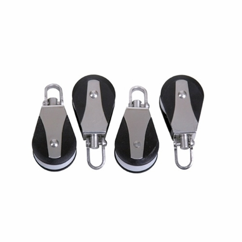 Gunners Up Replacement Nylon Hi-Tech Pulleys -- Set of Four