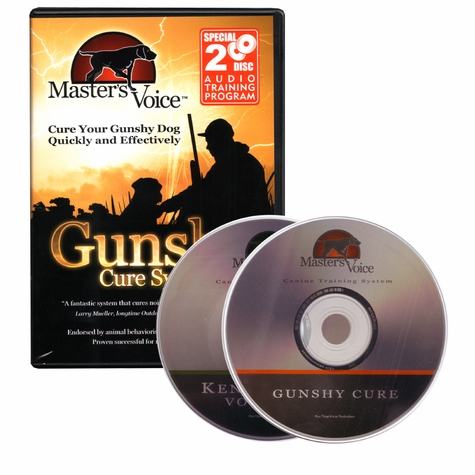 Gunshy Cure 2-CD Audio Set by Master's Voice