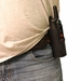 Hardshell Holster on belt