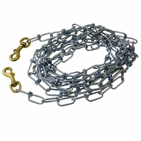 Heavy-Weight Tie-Out Chain -- 15 ft.