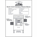 buy discount  How to Build a Pigeon House / Coop -  Plans