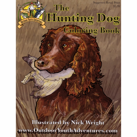 Hunting Dog Coloring Book