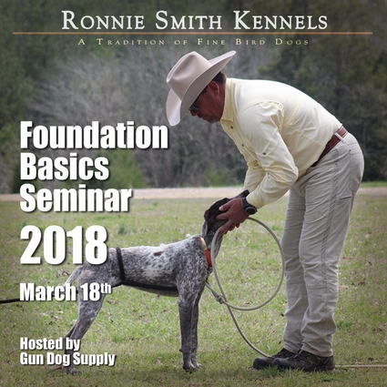 Huntsmith Foundation Basics Seminar with Instructor Ronnie Smith -- March 18, 2018