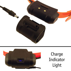 Improved Charger: Keeps out dirt and tells you when fully charged