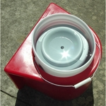 shop Insulated Bucket Holder with Water