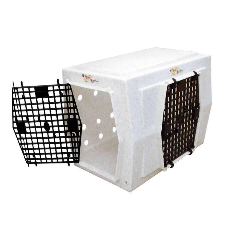 Ruff Tough Kennels Intermediate Right Side Entry Double