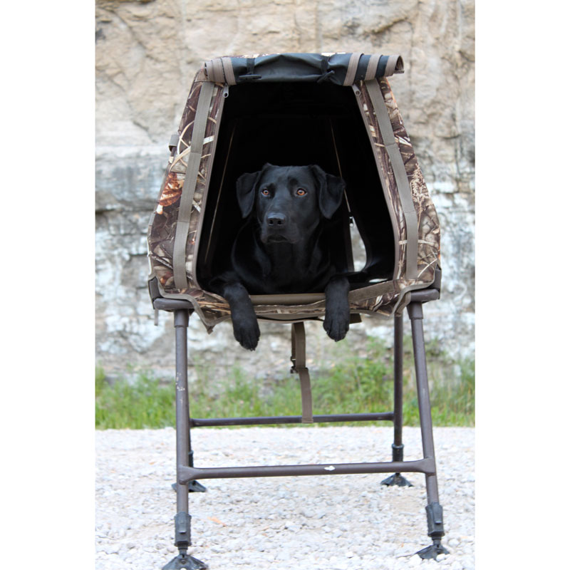 Invisilab G2 Dog Blind / Stand / Crate By MOmarsh
