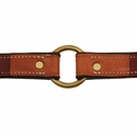 buy discount  K-9 Komfort 1 in. Premium Deluxe Leather Collar Inside Center Ring Detail