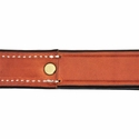 buy discount  K-9 Komfort 12 in. Bridle Leather Traffic Lead Inside Stitch Detail