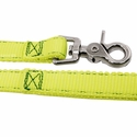 buy discount  K-9 Komfort 6 ft Nylon Lead with Leather Handle snap and stitch
