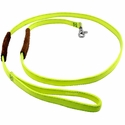 buy discount  K-9 Komfort 6 ft Nylon Lead with Leather Handle Yellow