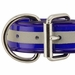 1 1/2 in. Beaded Reflective Dee-End Dog Collar Front of Buckle Detail