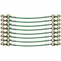 buy discount  K9 Komfort 8-Dog Cable Gang Green Leads